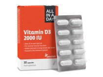 ALL IN A DAY vitamin D3 2000 IU Wellneo