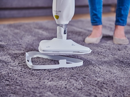 Rovus Nano Floor Steamer Plus Triangle Cloths